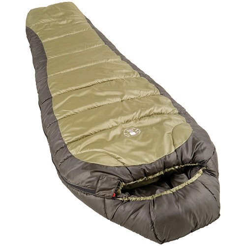 Coleman 0°F Mummy Sleeping Bag for Big and Tall Adults...