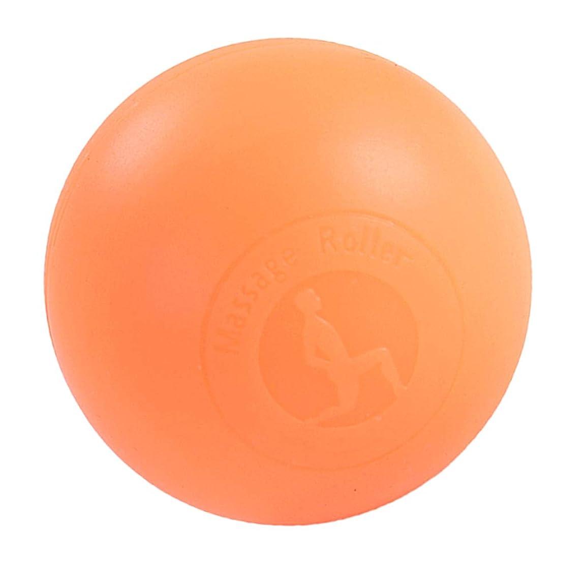 動作直面する問い合わせるBaoblaze ラクロスマッサージボール ボディマッサージャー トリガーマッサージ ポイントマッサージ 2色選べ - オレンジ