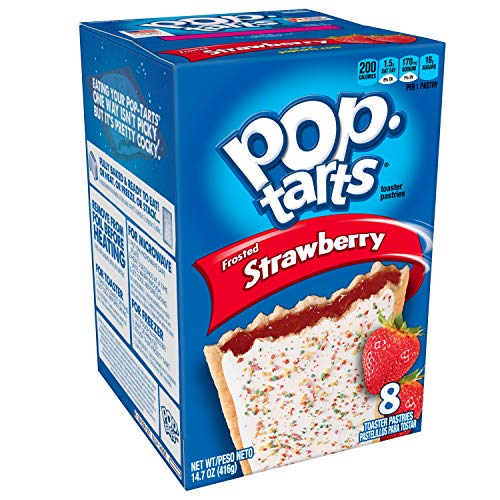 Kellogg's Pop Tarts Frosted Strawberry, 416gr