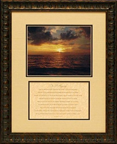 Artistic Reflections DM001 ''Do It Anyway'' Framed Art,17x21