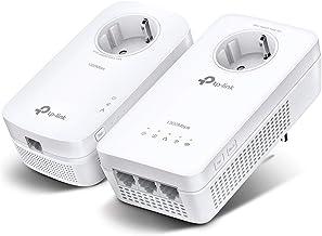 TP-Link WLAN Powerline Adapter Set TL-WPA8631P KIT(Dualband WLAN 1200Mbit/s, AV1300 Powerline, Steckdose, Wifi Clone, MU-M...