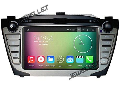 Acht Core 1024* 600HD Screen Android 6.0Auto DVD GPS Navigation für Hyundai ix35Tucson 2010–2013mit 3G/WIFI, DVR, 1080P