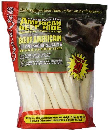 Premium American Bœuf du Naturel en Cuir Brut Lot DE 20 25,4 cm