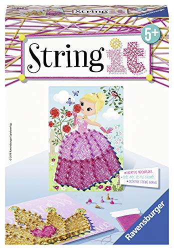 Ravensburger  18066 - String it Mini: Pink Princess