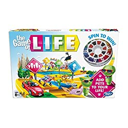 The game of life game is full of surprises Choose a path for a life of action, adventure and unexpected surprises Adopt pets Fun family game