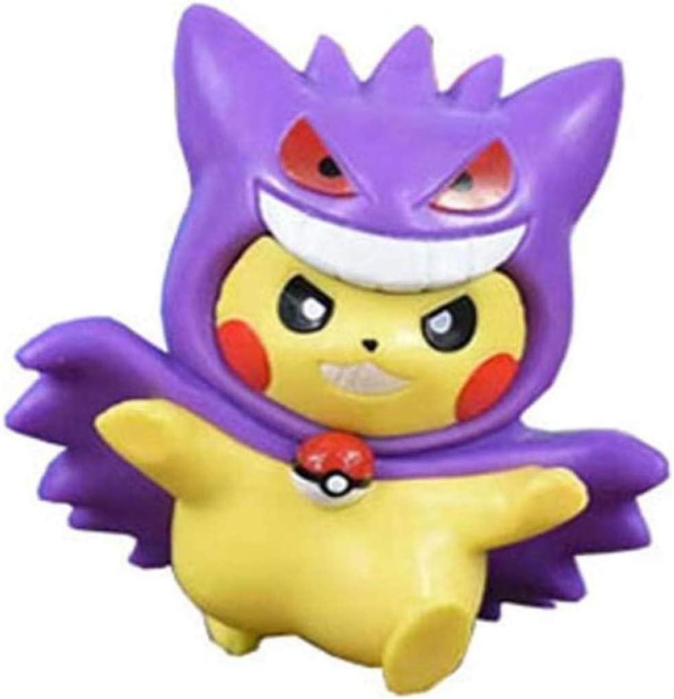 Pikachu Figuur Dressing Box Gacha DS Pokeacute, maa Pokeacute; ma Blind Box Hunter (4) Xping (Color : 2) 1
