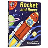 Rocket and Rover and All About Rockets 2-in-1 Board Book - PI Kids