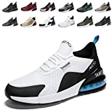 Air Baskets Chaussures Homme Femme Outdoor Running Gym Fitness Sport Sneakers Style Multicolore Respirante 10WhiteBlackBlue41EU