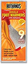 HotHands Heated Insole With Adhesive Backing, Ultra thin, Odorless