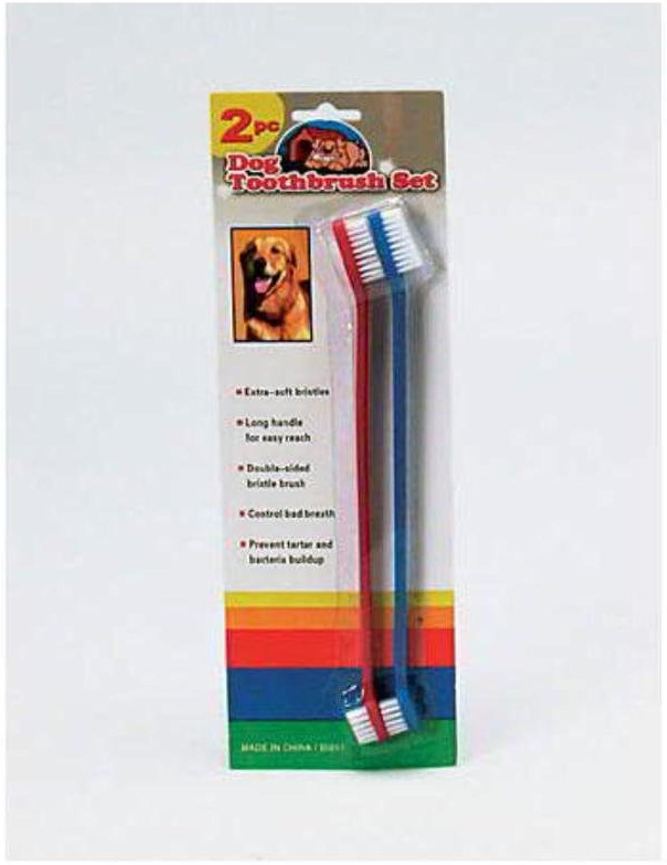 Findingking 48 Dog Toothbrush Set