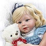 GLXLSBZ Reborn Baby Doll muñecas realistas de 28 Pulgadas / 70 cm Simulación Rebirth Baby Doll Extremidades Tela de Silicona Juguete para niña Rebirth Doll Reborn Dolls