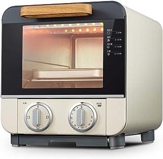 Toaster oven STBD-Pequeño Horno doméstico, 1000 W, Rejilla a la Parrilla y Bandeja para Migas, tostadora para desayunar en la Mesa de la Cocina