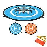 Flycoo 75cm Landing Pad Drone Hélicoptère Parking Tablier piste Décollage Atterrissage Hélisurface Pad facile à plier pour DJI Phantom 3 4 Inspire Mavic Pro Platinum Spark Mavic Air