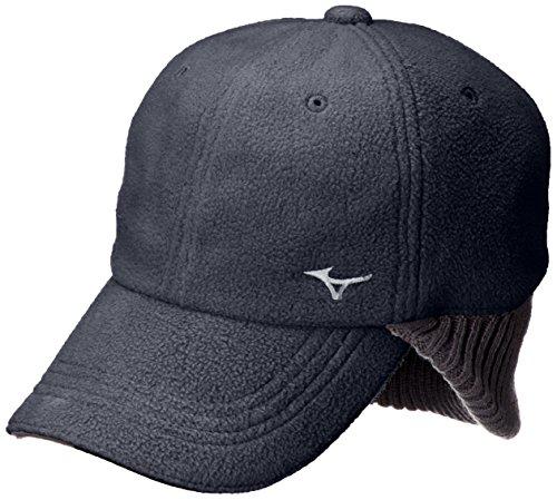 [ミズノ] ゴルフウェア キャップ 耳当て付き ブレスサーモ(発熱素材) 52MW7506 メンズ ディープネイビー メンズフリー(56-60cm) (FREE サイズ)