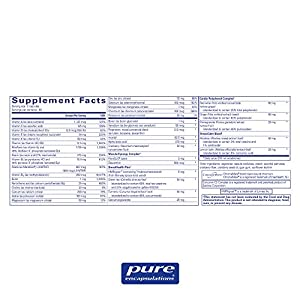 Pure Encapsulations - Women's Nutrients - Hypoallergenic Multivitamin/Mineral Complex for Women Over 40 - 180 Capsules