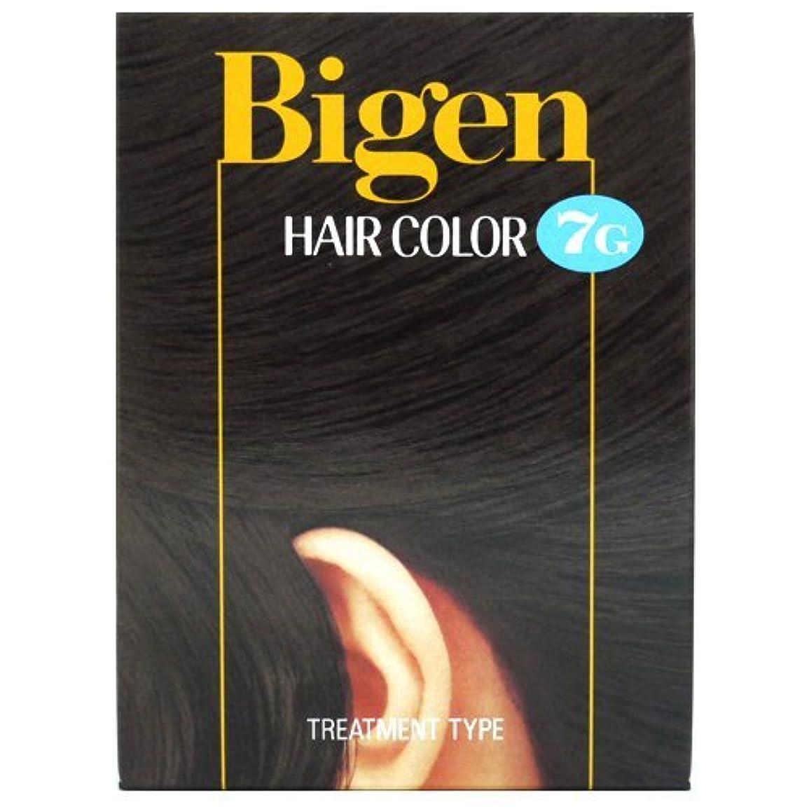 打ち上げる到着するアレルギーホーユー ビゲン ヘアカラー 【7G 自然な黒褐色】