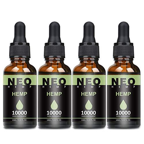 4 Pack Natürliches Öl Tropfen 90 Prozent-10ML, Höchste Qualität Öl, 100{8e54537e23952c42393bd77572955c30d0fc30db4b75febec72f7d2f63b4542a} Vegan (10000)