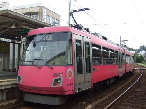 Tokyu Series 300 (305F Cherry Red) (Model Train)
