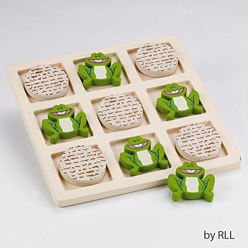 Price comparison product image Rite Lite Tic Tac Toad Wood Passover Game - 1 / pkg.