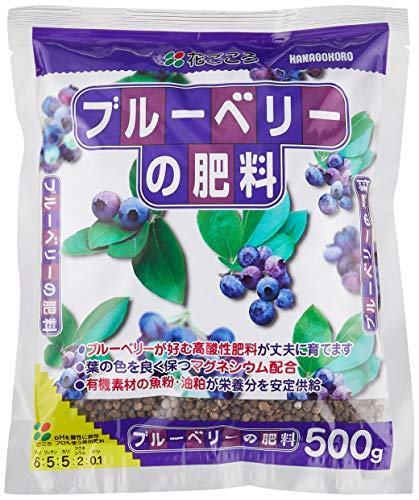 花ごころ ブルーベリーの肥料 500g