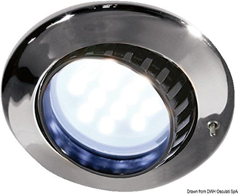 Batsystem Comet Chromed ABS Built-in Adjustable 12xSMD 8 30V 2.4W LED Spotlight