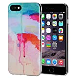 AMZER Soft Gel Designer Graphic TPU Skin Case for iPhone 6 Plus/6s Plus - Abstract Watercolor Drip