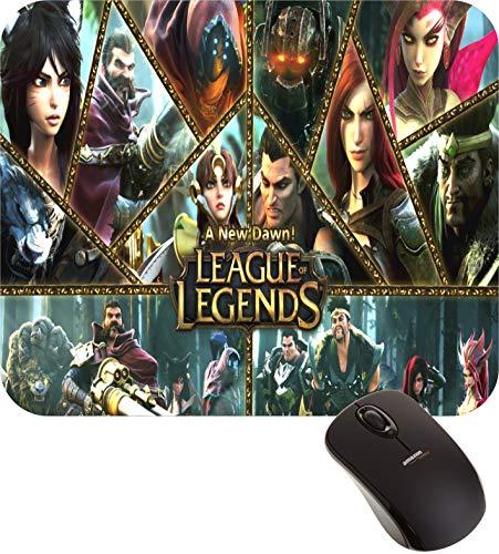 Mouse Pad LOL Jogo League of Legends Gamer Geek FRETE GRÁTIS