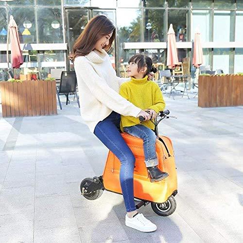 Woodtree Mini Scooter eléctrico Plegable for Adultos eléctrico Hombres y Mujeres de...