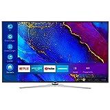 MEDION X16512 163,9 cm (65 Zoll) UHD Fernseher (Smart-TV, 4K Ultra HD, Dolby Vision HDR, Micro Dimming, MEMC, Netflix, Prime Video, WLAN, Triple Tuner, DTS, Subwoofer, PVR, Bluetooth)