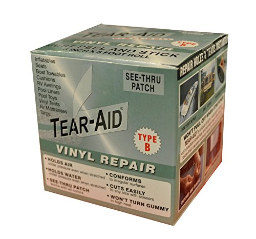 TEAR-AID Vinyl Repair Kit, 3 in x 5 ft Roll, Type B (2 Pack)