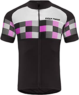 Uglyfrog Summer Men's Bike Wear Short Sleeves MTB Cycling Jersey Road Bike Clothing DXHB08