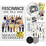 NCT 2020 Album - RESONANCE Pt.2 [ DEPARTURE ver. ] CD + Photobook + Folded Poster(On pack) + Sticker + ID Card + Photo Card + FREE GIFT