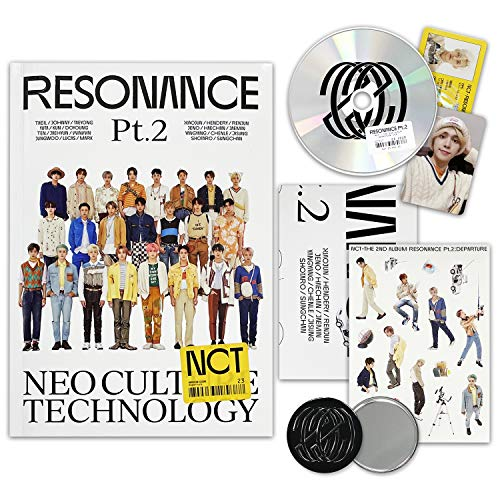NCT 2020 Album - RESONANCE Pt.2 [ DEPARTURE ver. ] CD + Photobook + Folded Poster(On...