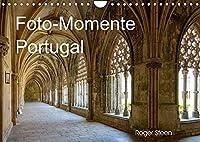 Foto-Momente Portugal (Wandkalender 2022 DIN A4 quer): Lissabon, Nazare, Obidos und grossen Klosteranlagen (Monatskalender, 14 Seiten )