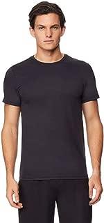 Mens Essential 3 Pack Fit Air Mesh Lightweight Undershirt Tee Shirt Short Sleeve Shirt