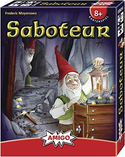 Saboteur. Kartenspiel: Für 3 -10 Spieler ab 8 Jahren . Spieldauer: 30 Minuten