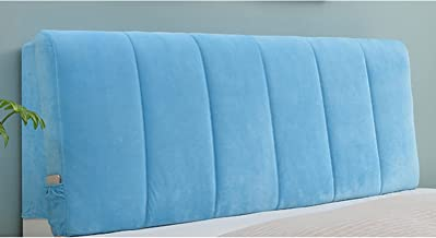 Soft Case Headboard Cover Bed Head Back Dust Protection for Wood Bed Anti-Collision Bed Headboard Cover Protector (Color :...
