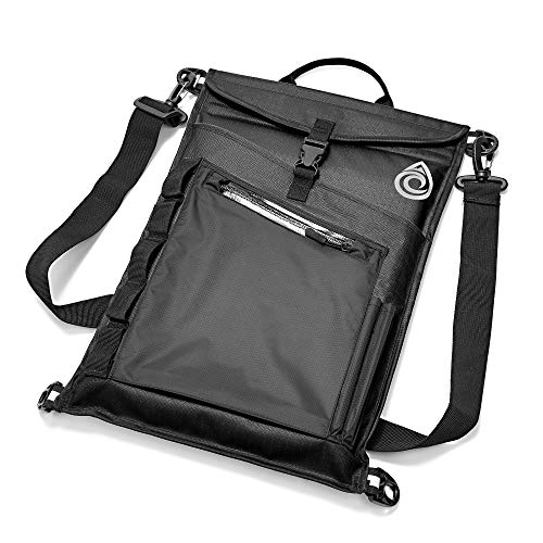 Aqua Quest Typhoon Laptop Sleeve - 100% Waterproof, Lightweight, Durable, Padded Case - Protective Computer Pouch Cover Bag - 15 inch - Black