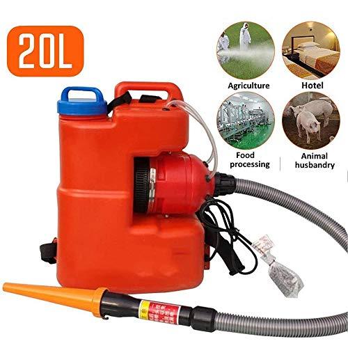 ZCME-power 20L Mochila portátil ULV eléctrica pulverizador, Jardín Nebulizador Pulverizador De Máxima...
