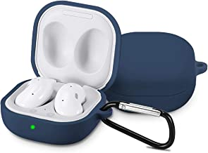 Newseego Compatible with Samsung Galaxy Buds Live Case, Full Body Protective Cover Skin Soft Silicone Shockproof Headphone...