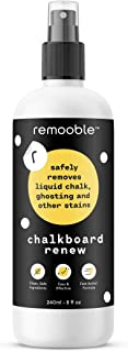 Remooble Non-toxic Chalkboard Cleaner, 8 oz.