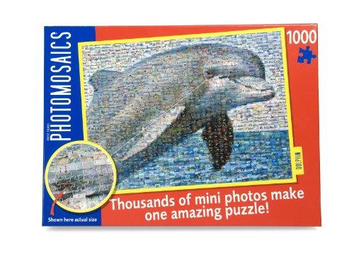 Delfin (Dolphin) Photomosaic Puzzle 1000 Teile Fotomosaik