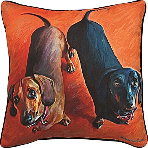 Manual Louisville-Jefferson County Mall Double Dachsies Dachshund Paws Weekly update Sq Decorative Whiskers and