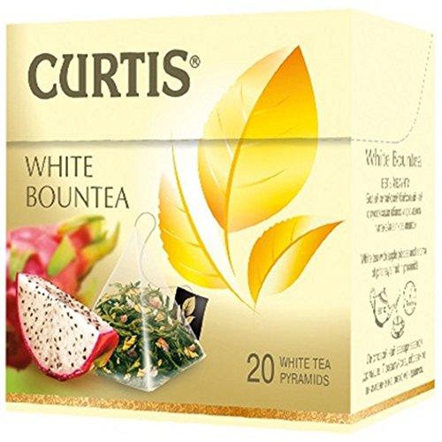 Curtis weißer Tee White Bountea 20 Pyramidbeutel Pyramid Tea