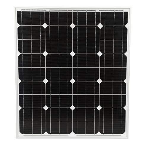 Seachoice 14421 Monocrystalline Solar Panel Charging Kit, 12-Volt, 80-Watt, 6.6-Amp