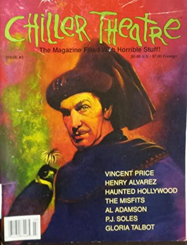 Chiller Theatre V 1 3 1995 Vincent Price Misfits PJ Soles Gloria Talbot product image