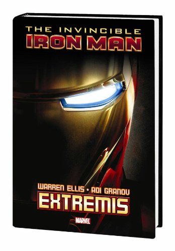 Iron Man: Extremis HC (With Movie Cover)