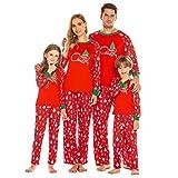 Family Matching Christmas Pajamas for Boys Girls Sleepwear Kids PJs Men Women 2 Pieces Pants Set