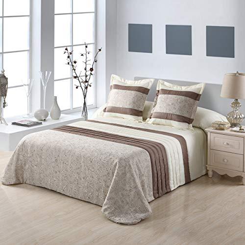 NH NOVOTEXTIL sprei Bouti Jacquard winter model Amsterdam 3-delig bed 150 cm eenpersoonsbed