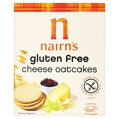 Nairn's Gluten Free Cheese Oatcakes 135g - Pack of 6